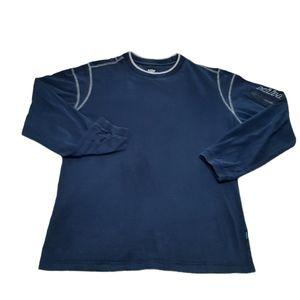 Kuhl Kommando Navy Blue Crew Neck Pullover Shirt